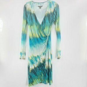 Tommy Bahama S Aqua Lagoon Twist Faux Wrap Dress